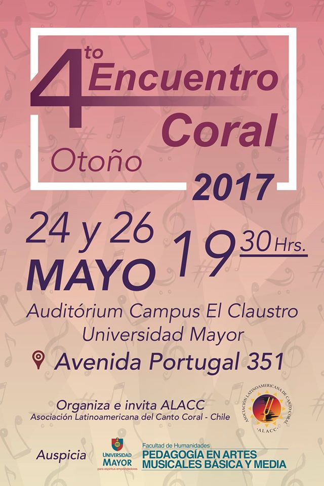 IV Encuentro de Otoño 2017-Afiche (UMayor)