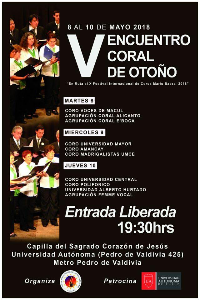 V Encuentro de Otoño 2018-Afiche (UAutónoma)
